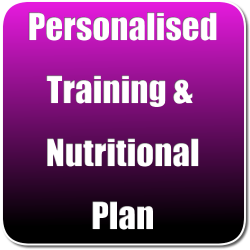 Personalised Training and Nutritional Plan